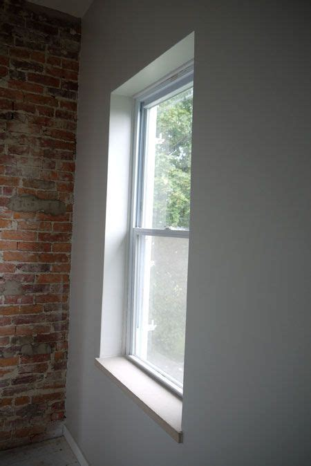 contemporary window trim trimless windows midcentury modern interiors pinterest