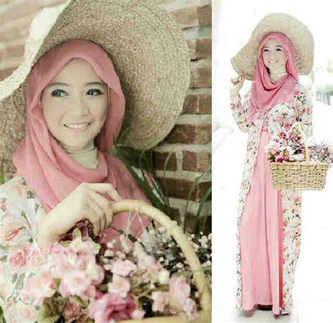 Gamis Murah Gamis Cardi Salur busana muslim wanita model terbaru murah lengkap dengan
