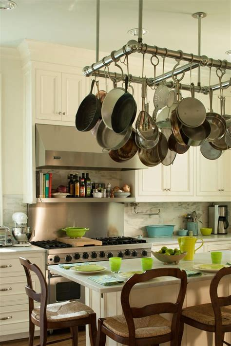 kitchen island hanging pot racks 25 best ideas about pot rack hanging on pot