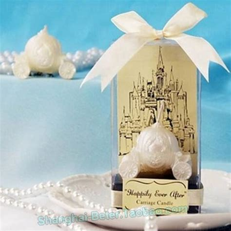 disney fairy tale happily ever after carriage candle