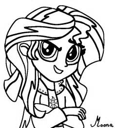 my pony equestria coloring pages my pony equestria sunset shimmer coloring page