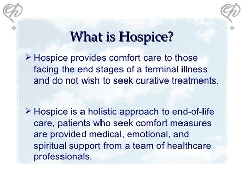 end of life comfort care hospice 101 social media 1