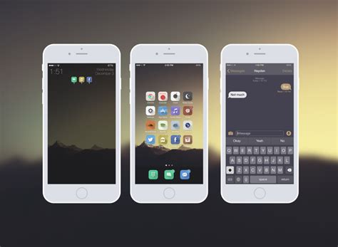themes for jailbroken iphone ios 8 iphone 6 minimal theme ios 8 1 1 by indx on deviantart