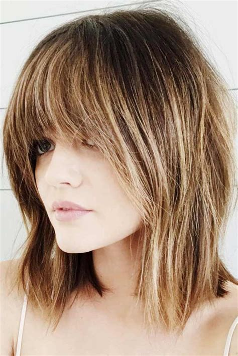 Hairstyles For To Do On Their Own by Bangs Are Independent In Medium Hair Styles They May Be