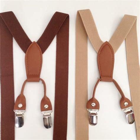 suspenders baby boys suspenders bowtie brown toddler suspenders bow tie