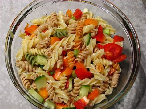 pasta salad dressings tri colored pasta recipes to try pinterest