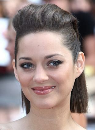 images of bob hairstyle pulled back marion cotillard s pulled back straight bob hairstyle