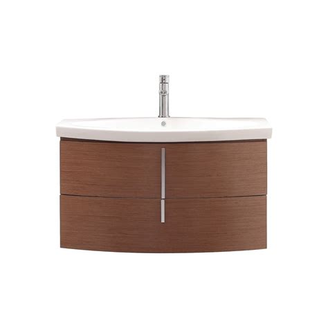 36 inch single sink bathroom vanity with integrated top