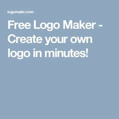 free logo design in minutes pinterest the world s catalog of ideas