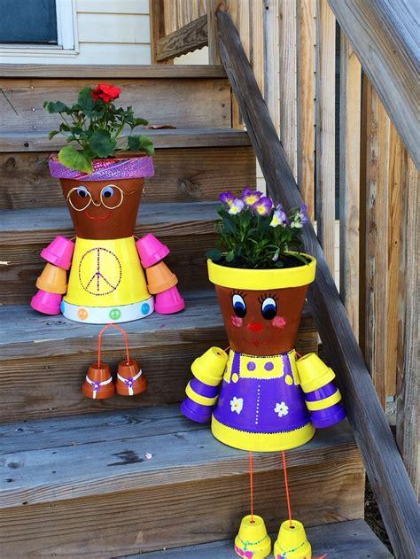 vasi di terracotta colorati vasi terracotta tante idee originali per realizzare