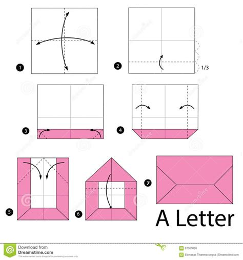 Folding Letters Origami - origami origami money envelope letterfold tutorial