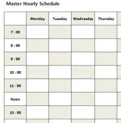 hourly timetable template hourly schedule template new calendar template site