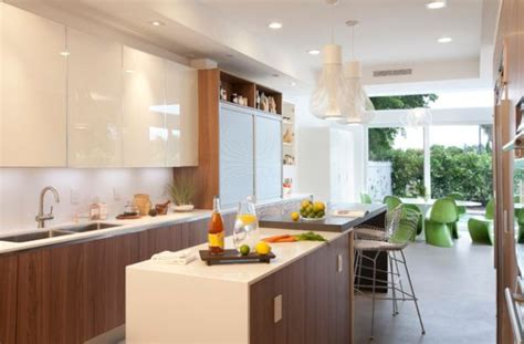 Modern Painted Kitchen Cabinets 28 Kitchen Cabinet Ideas With Glass Doors For A Sparkling Modern Home