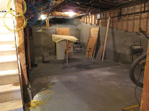 can a basement floor be lowered avs forum home