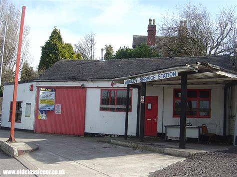 Station Garage by Service Station In Audley Staffordshire