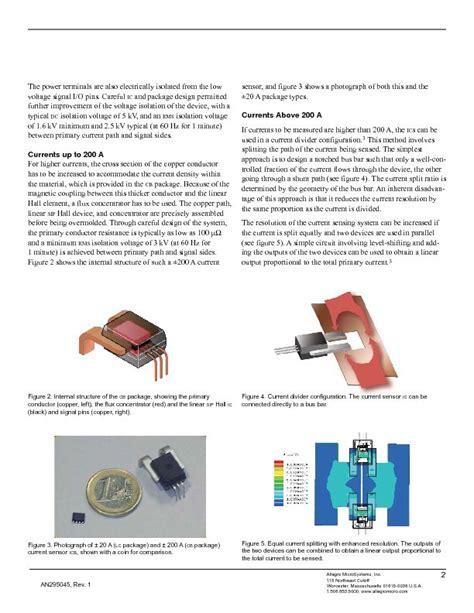 current sense resistor application note application note about recent trend in effect current sensing 171 current sensor 171 sensorzine