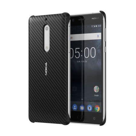 Nokia 5 Casing Wadah Belakang Back Kasing Design 040 official nokia 5 carbon fibre design black