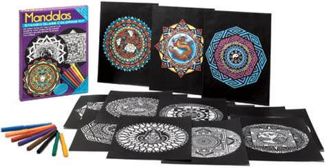 mandala coloring book kit shop kaleidoscopic design and mandala coloring books for