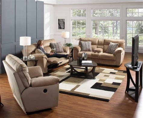 Power Reclining Living Room Set by Catnapper Ashton 3 Power Reclining Living Room Set