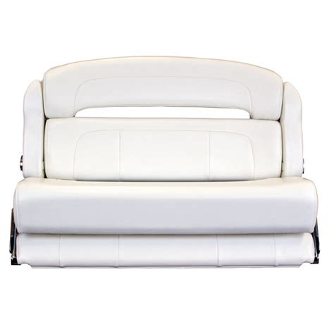 helm bench seat taco marine 36 quot deluxe capri helm bench chair white