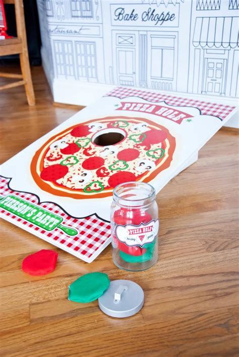 Pizza Decorations Supplies by Kara S Ideas Pizzeria Chef Themed Pizza
