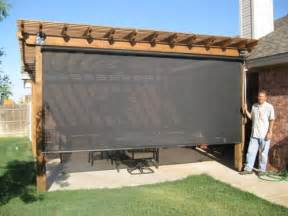 Roll Up Shades For Patio by Patio Shades Roller Shades And Much More Call Beat The