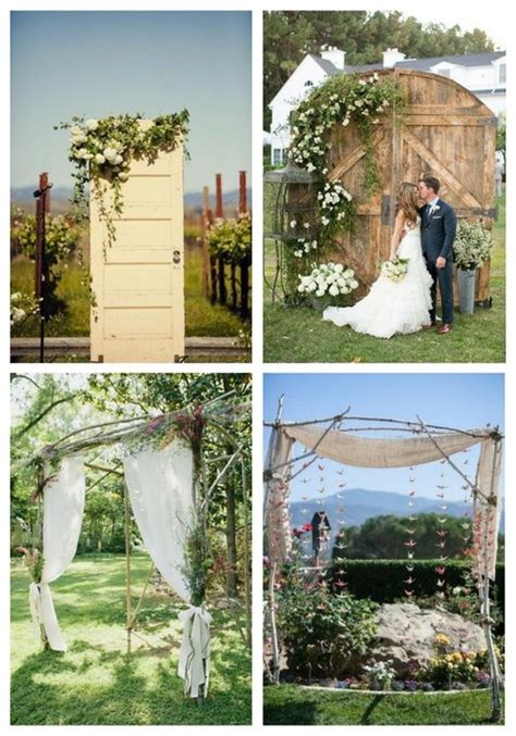 47 dreamy and backyard wedding backdrops and