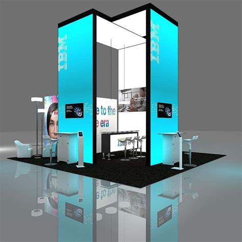 Exhibition Display Racks by Exhibition Stands 31 To 50 Sq Meters Tailor Made Deign In Europe Ees