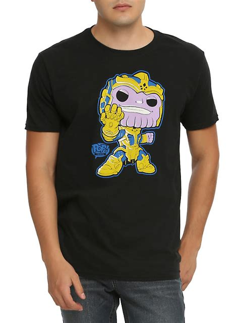 Funko Pop Logan Tank Top Topic Exclusive Marvel X funko marvel pop guardians of the galaxy thanos t shirt topic exclusive topic