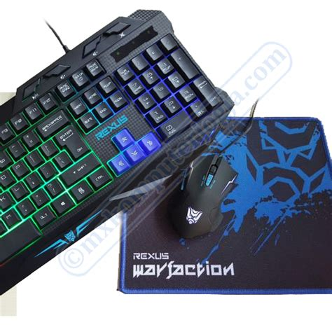 Keyboard Mouse Rexus rexus warfaction vr1 keyboard mouse 171 toko komputer jogja