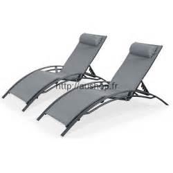 chaise longue jardin pas cher transat bain de soleil prix
