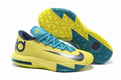 kevin durant nike basketball shoes cheap nike kd vi 6 kevin durant 2013 flywire phylon yellow
