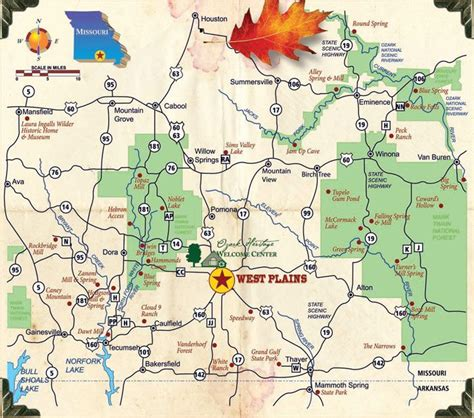 missouri attractions map maps update 1500950 missouri tourist attractions map