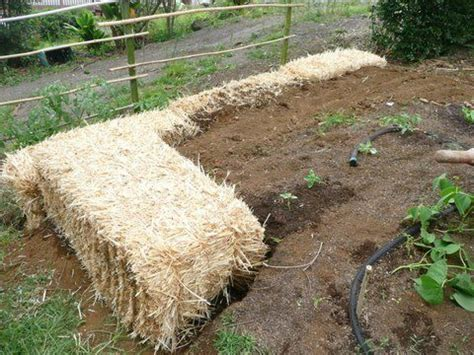 straw bales straws and retaining walls on