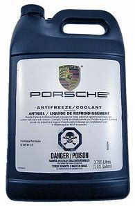 Porsche Coolant Can I Use Water In The Summer In Lieu Of Coolant Page