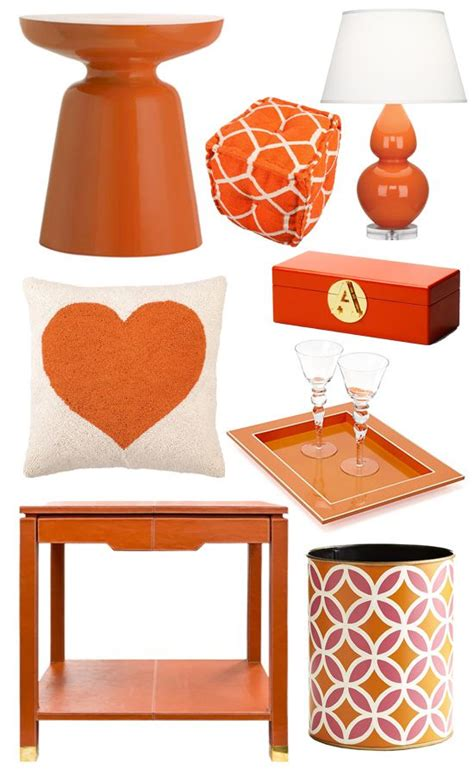 Orange Living Room Accessories by Bring Summer Inside With Bright Orange Decor Home Decor
