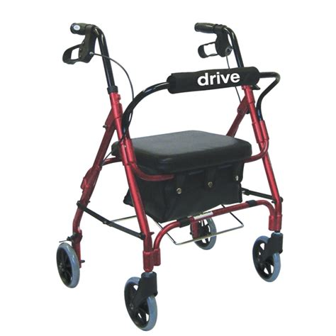 drive 301psrn junior rollator walker with padded