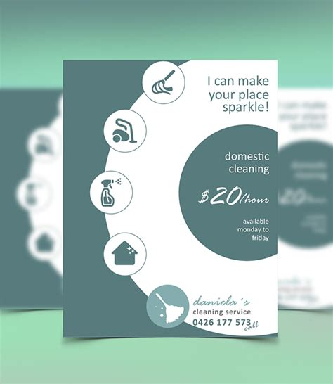 cleaning company flyers template 30 sle cleaning flyer templates free psd word ideas