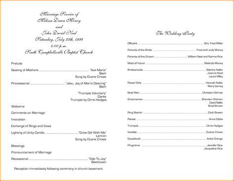 8 church program templates letterhead template sle