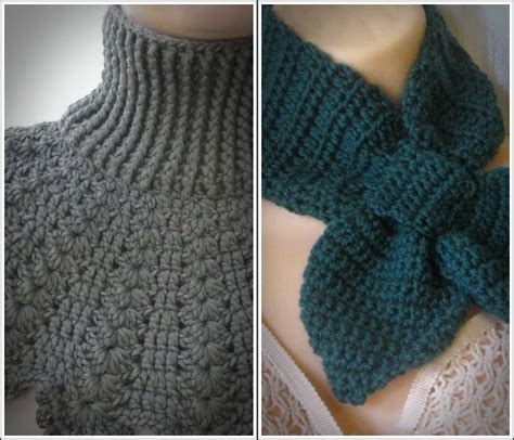 neck pattern video crochet pattern central cowls neck warmers manet for