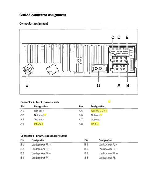 Wiring Diagram PDF: 2002 Porsche Radio Wiring