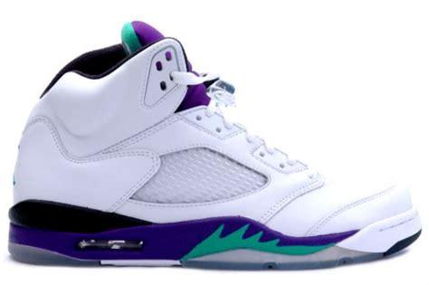 new year 5s jordans for sale cheap 5 retro white grape new emerald shoes