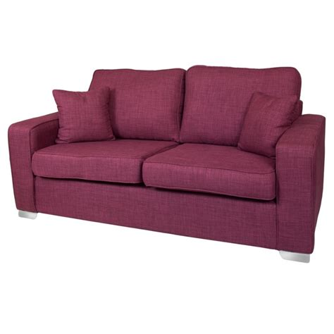 Fabric 3 Seater Sofa by New York 3 Seater Fabric Sofa