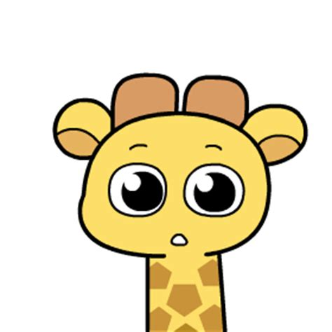 9 super cute giraffe animated gifs emoji dialogue