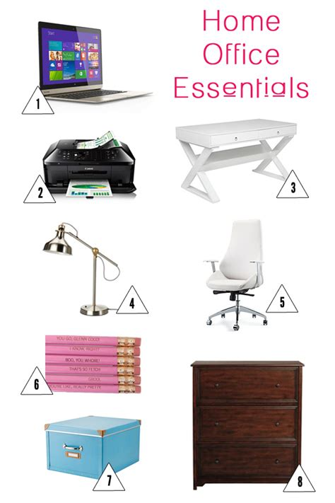 Home Office Essentials by How To Setup Your Home Office
