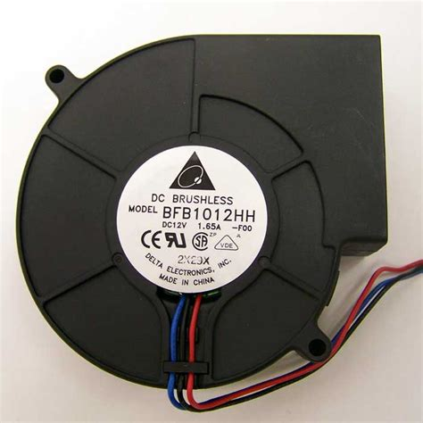 12vdc squirrel cage brushless blower fan delta bfb1012hh brushless server blower fan 12v dc 4000