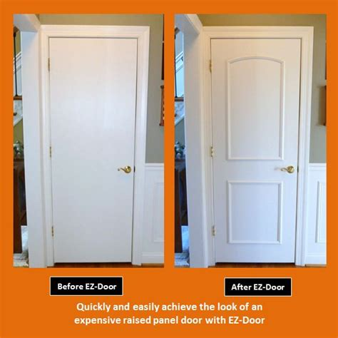 Cost To Replace Front Door by Innovative New Ez Door Transforms Interior Doors Quickly