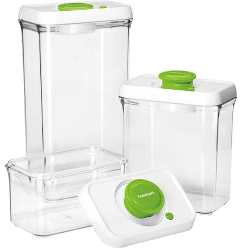 container for food storage cuisinart fresh edge 6 vacuum sealed food storage