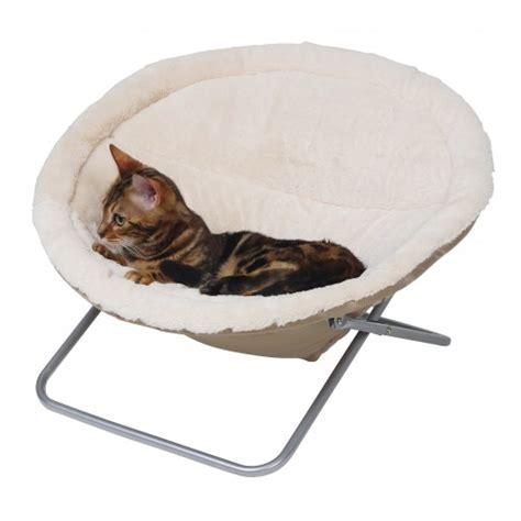 fauteuil lit pliable pour chat kerbl wanimo