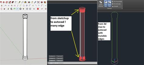 sketchup layout hidden geometry export sketchup to cad without showing hidden geometry